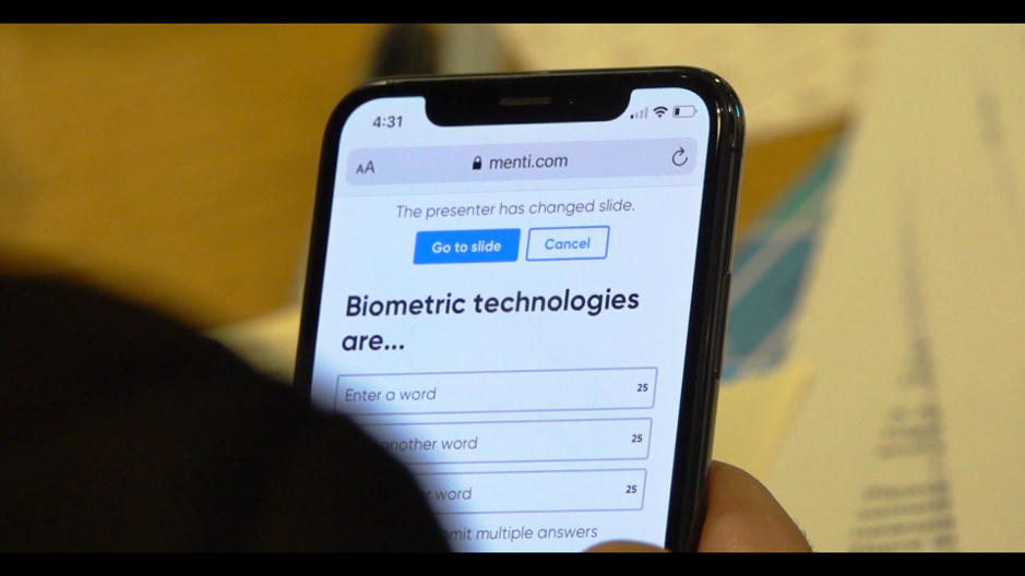 biometric technologies questionnaire mobile